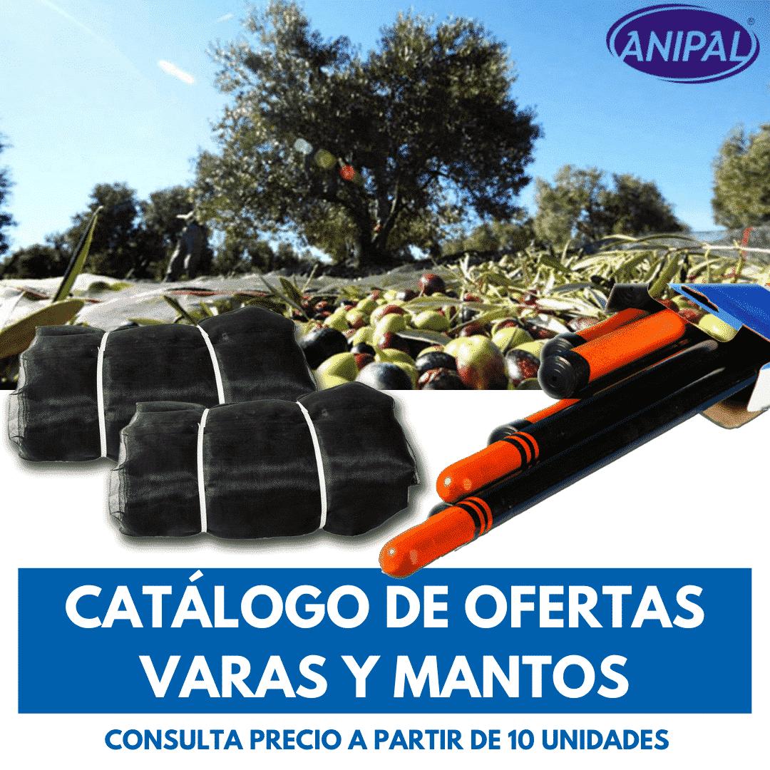 OFERTAS VARAS Y MANTOS