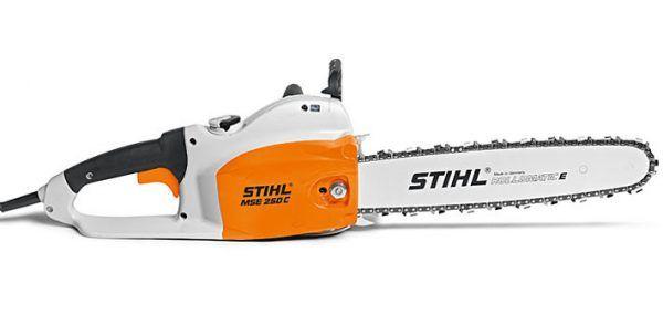Motosierra eléctrica potente, ergonómica y optimizada al máximo con freno de cadena STIHL QuickStop Super (C-Q).