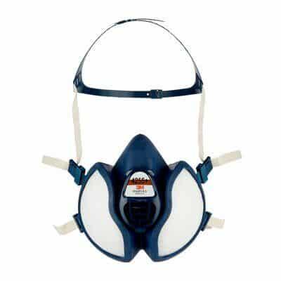 Media máscara sin mantenimiento con filtros FFA2P3 R D, 4255+