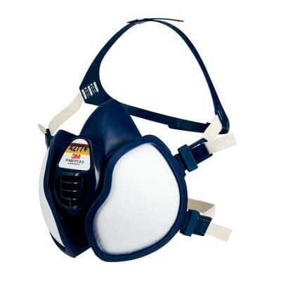 Media máscara sin mantenimiento con filtros FFABE1P3 R D, 4277+