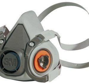 3M Media máscara reutilizable, mediana, 6200