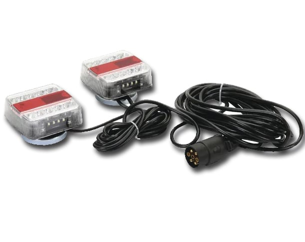 LA207351GP Set de luces LED 12V magnéticas 7.5m cable