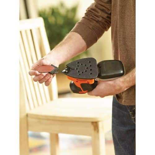 LIJADORA MOUSE BLACK + DECKER 120w KA2000-QS