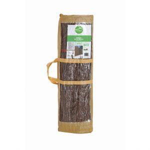 Cosido de ramas naturales de brezo y alambre
