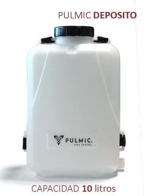 Depósito auxiliar completo: 10 litros de capacidad.