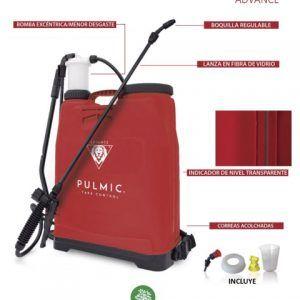 Hidráulico manual para la aplicación de productos agroquímicos. *Incluye: pistón de recambio, boquilla GA herbicida, boquilla de 4 salidas roja y probeta.