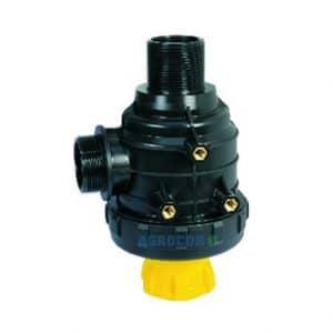 FILTRO ASP. 120 L/MIN 1 1/4 50 MESH C/VALVULA