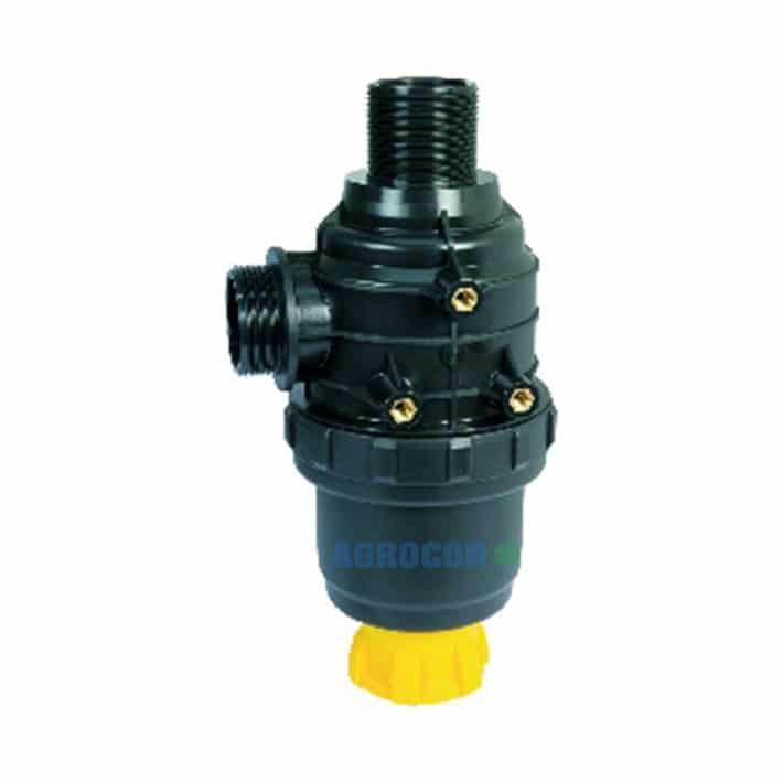 FILTRO ASP. 150 L/MIN 1 1/2 50 MESH C/VALVULA