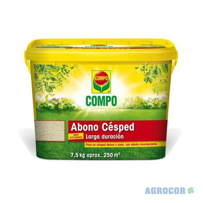 COMPO ABONO CESPED LARGA DURACION 7,5 kg