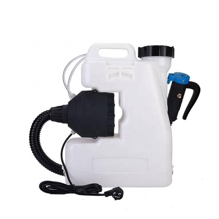 Modelo CRV-12-220: 1200W de potencia motor; 12 litros de depósito líquido; 750 ml/min de caudal; y 4,1 kg de peso.