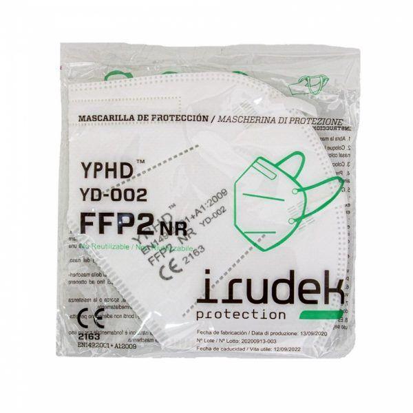MASCARILLA plegada YD-002 YPHD FFP2 sin valvula