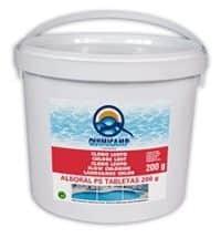 CLORO ESTABILIZADO 90% de cloro activo. No modifica el pH.