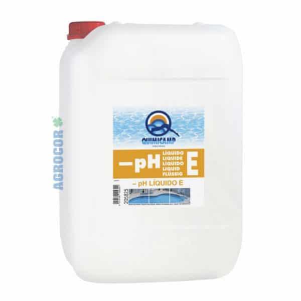 QUIMICAMP - PH LIQUIDO ''E'' 25 kg.